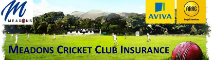 Meadons Cricket Club Insurance