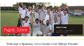 Spalding Town Cricket Club joins Cyberspace