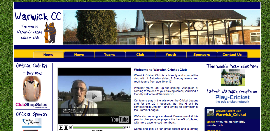 Warwick CC Website